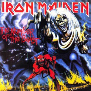 08 - IRON MAIDEN - THE NUMBER OF THE BEAST