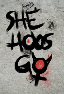 She Hoos Go - Logo