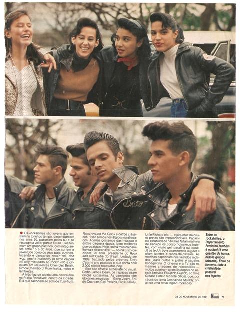 Revista Manchete (1991) - Crédito: Ruy Campos